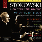 Vaughan Williams: Symphony No.6 - Mozart: Symphony No.35 - Tchaikovsky, Scott and Weinberger von New York Philharmonic