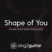 Shape Of You (Acoustic Guitar Karaoke Instrumentals) de Sing2Guitar