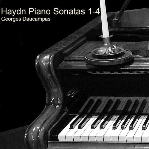 Haydn Piano Sonatas 1-4 de Georges Daucampas