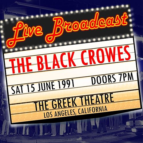 The Greek Theatre 15th June 1991 by The Black Crowes