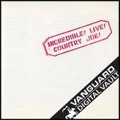 Incredible! Live! by Country Joe McDonald