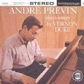 Plays Songs By Vernon Duke by Andre Previn