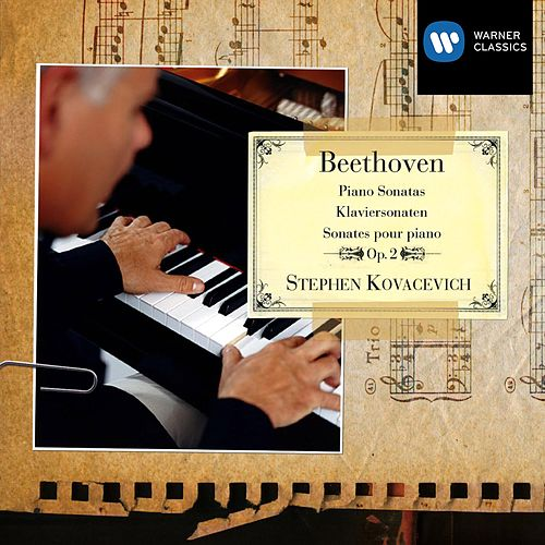 Beethoven: Piano Sonatas Op. 2 by Stephen Kovacevich