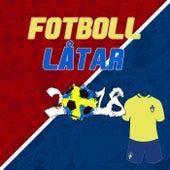 Fotboll Låtar 2018 (Swedish Football Songs 2018) de Various Artists