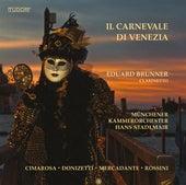 Il carnevale di Venezia by Eduard Brunner