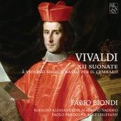 Vivaldi: XII Suonate à violino solo, e basso per il cembalo by Fabio Biondi