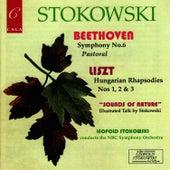 Beethoven: Symphony No. 6, - Liszt: Three Hungarian Rhapsodies by NBC Symphony Orchestra