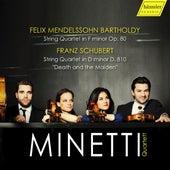 Mendelssohn & Schubert: String Quartets by Minetti Quartet
