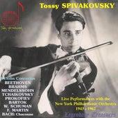 Tossy Spivakovsky Live: 8 Violin Concertos de Tossy Spivakovsky
