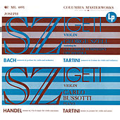 Joseph Szigeti Plays Bach, Händel & Tartini (Remastered) de Joseph Szigeti