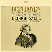 Beethoven: Symphonies Nos. 1 & 2 (Remastered) by George Szell