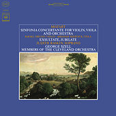 Mozart: Sinfonia Concertante, K. 364 & Exsultate, Jubilate, K. 165 de George Szell