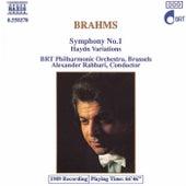 Symphony No. 1 / Haydn Variations de Johannes Brahms
