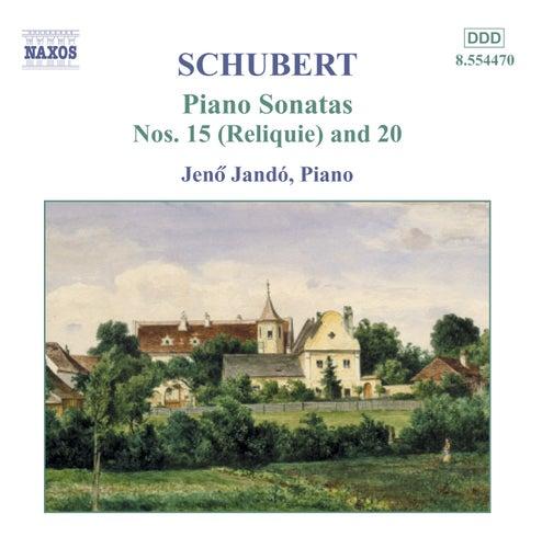 Piano Sonatas Nos. 15 & 20 by Franz Schubert