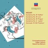 Mozart: Symphonies 35, 41, 36, 38; Posthorn Serenade by Eduard Van Beinum