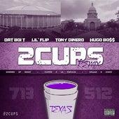 2Cups 2013 (Remix) [feat. Hugo Bo$$, Lil' Flip & Tony Dinero] de Dat Boi T