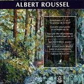 Roussel: Symphonie No. 1 Op. 7, Concerto pour Piano et Orchestre, Op. 36 by Jan Michiels