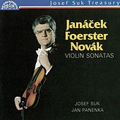 Janacek, Foerster & Novak: Violin Sonatas de Jan Panenka