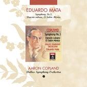 Copland: Symphony No. 3 - Danzon Cubano - El Salon Mexico de Eduardo Mata