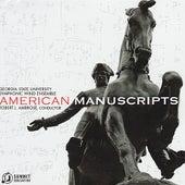 American Manuscripts von Georgia State University Symphonic Wind Ensemble