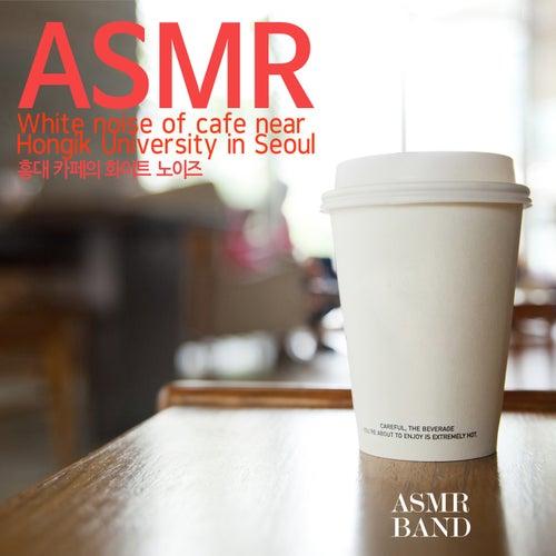 ASMR, White Noise of Cafe Hongik University in Seoul by Jacob