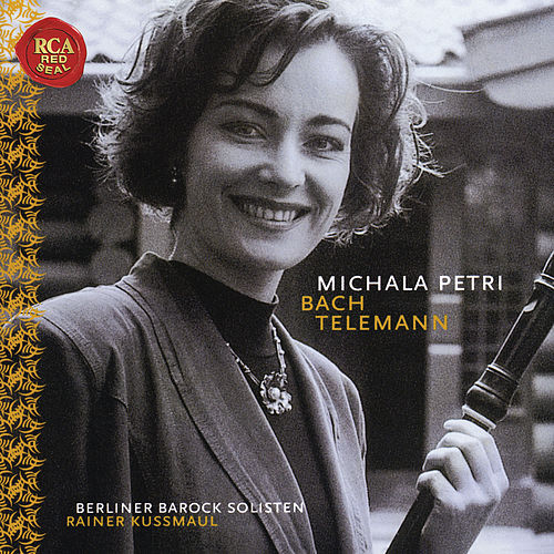 Michala Petri Plays Bach & Telemann by Michala Petri