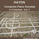 Haydn: Complete Piano Sonatas in 4 Volumes, Vol. 1 by Claudio Colombo