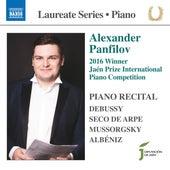 Debussy, Seco de Arpe, Mussorgsky & Albéniz: Piano Works by Alexander Panfilov