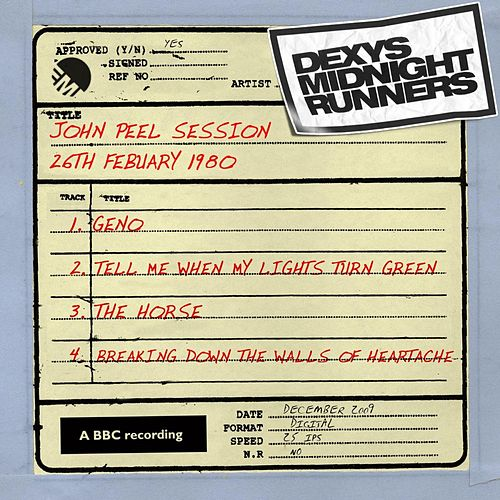 John Peel Session (26th February 1980, rec 26/2/80 tx 13/3/80) by Dexys Midnight Runners