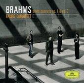 Brahms Klavierquartette, Op.25 & Op.60 de Fauré Quartett