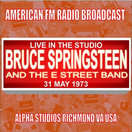 Live In The Studio - Alpha Studio Richmond VA USA 1973 de Bruce Springsteen