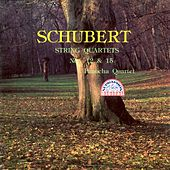 Schubert: String Quartets Nos. 12 & 15 by Panocha Quartet