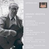 Segovia Plays Boccherini, Sor & Giuliani (Recorded 1952-1958) by Andres Segovia