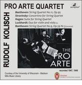 Beethoven, Stravinsky, Hagen & Luckhardt: Chamber Music for Strings by Various Artists
