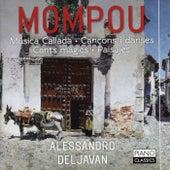 Mompou: Musica callada, Cancons i danses, cants màgics, paisajes by Alessandro Deljavan