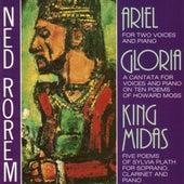 Rorem: Ariel, Gloria, & King Midas by Various Artists