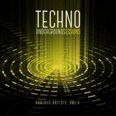 Techno Underground Sessions, Vol. 4 de Various Artists