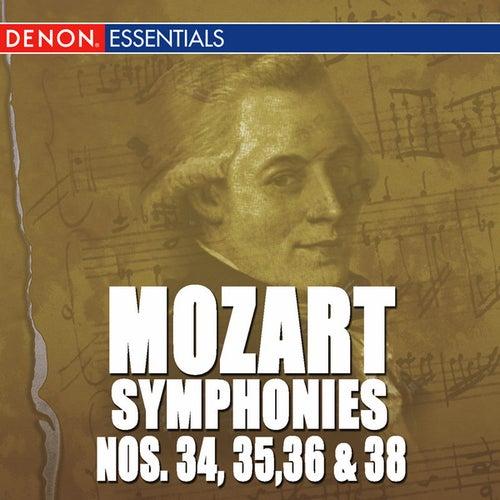 Mozart: Symphonies - Vol. 7 - 34, 35, 36 & 38 by Various Artists