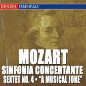 Mozart: Sinfonia Concertante K. 297 & 364 - Sextet No. 4 - A Musical Joke by Various Artists