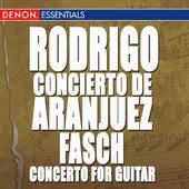 Fasch: Concerto for Guitar - Rodrigo: Concierto Aranjuez - Villa-Lobos: 5 Preludes - Pujol: Elegia by Various Artists