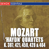 Mozart: 'Haydn Quarets' - K 387, 421, 458, 428 & 464 de Mozarteum Quartet Salzburg