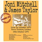 Live In London 1970 von Joni Mitchell And James Taylor