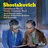 Shostakovich: Violin Concerto No. 2; Symphony No. 15 by Various Artists