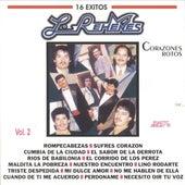 Corazones Rotos 16 Exitos, Vol. 2 de Los Rehenes