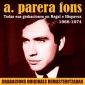 Todas sus grabaciones en Regal e Hispavox (1966-1974) by A. Parera Fons