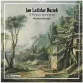Dussek: 3 Piano Sonatas von Markus Becker
