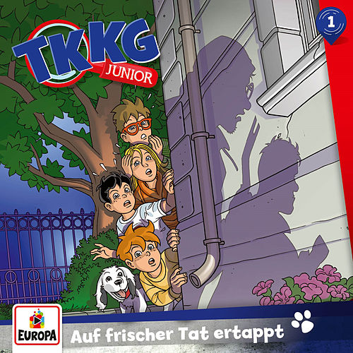 001/Auf frischer Tat ertappt von TKKG Junior