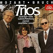 Bruch / Mozart:  Trios for Clarinet, Viola and Piano by Ludmila Peterkova