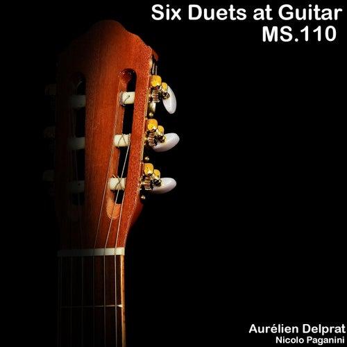 Six Duets at Guitar, MS. 110 by Aurélien Delprat