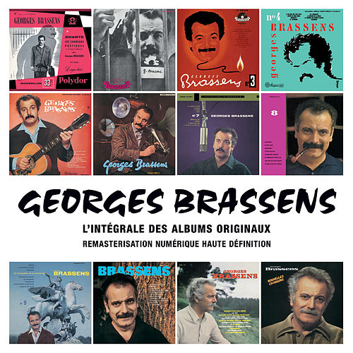 Intégrale des albums originaux de Georges Brassens